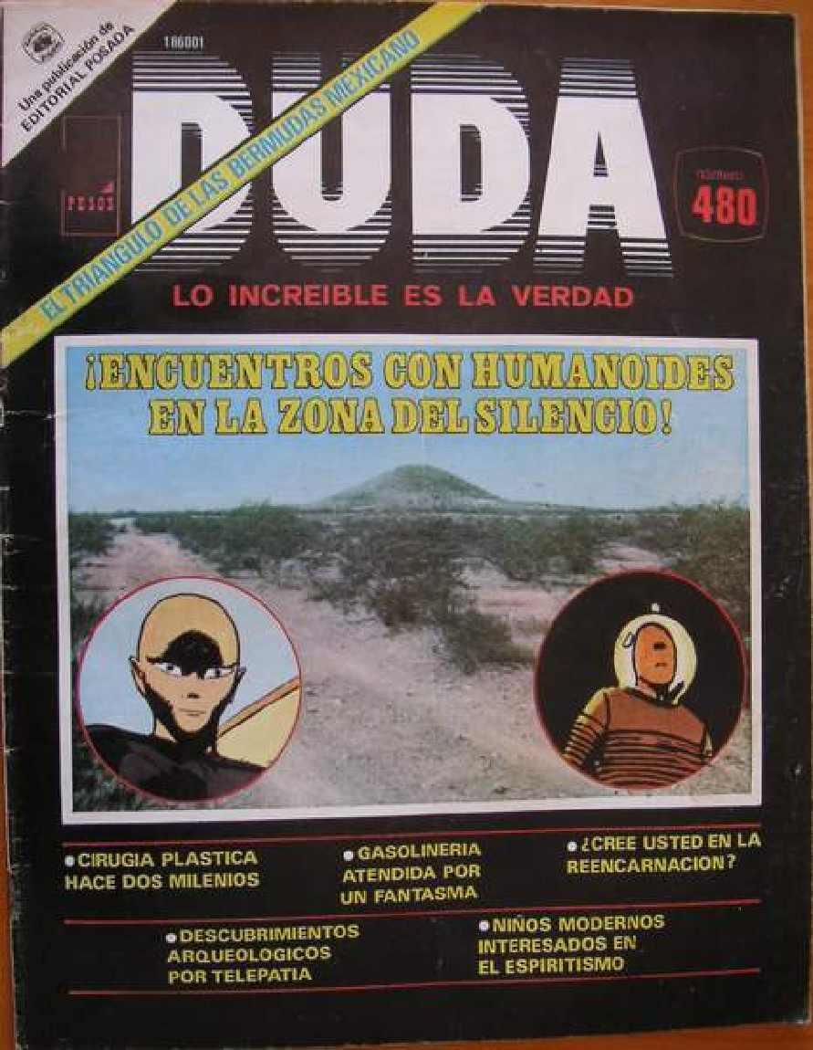 Encuentros Con Humanoides En Zona Del Silencio Duda Revisteria Ponchito